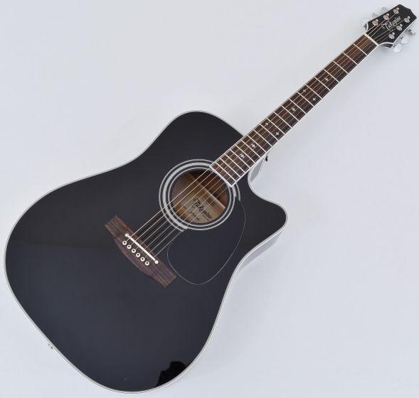 Takamine EF341SC Legacy Series Acoustic Guitar in Black B Stock