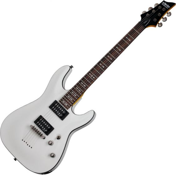 Schecter Omen-6 Electric Guitar In Vintage White Finish