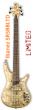 Ibanez SR5BBLTD Limited Premium Buckeye Burl Bass Guitar Headstock