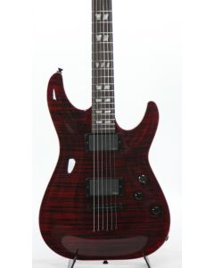 Schecter USA Custom Hollywood Classic Black Cherry Electric Guitar