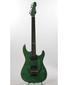 ESP E-II ST-2 Rosewood EGR Flame Maple Emerald Green Electric Guitar 6SEIIST2FMREGR