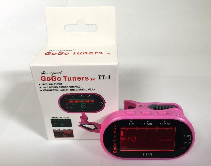 GoGo Tuners Pink TT-1 Chromatic Guitar