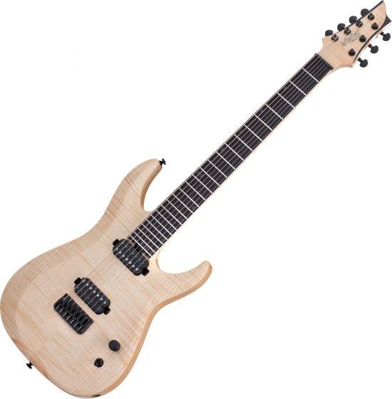 Schecter Keith Merrow KM-7 MK-II Electric Guitar Natural Pearl