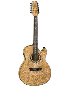 Dean Exhibition Quilt Ash Acoustic Electric 12 String Guitar GN EXQA12 GN EXQA12 GN