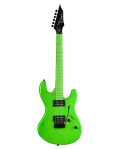 Dean Custom Zone 2 HB Florescent Green Electric Guitar CZONE NG CZONE NG