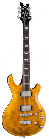 Dean Icon Flame Top Trans Amber ICON FM TAM