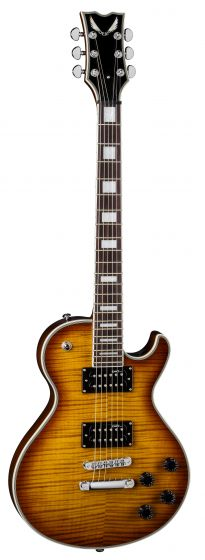 Dean Thoroughbred Deluxe Trans Amber TB DLX TAM