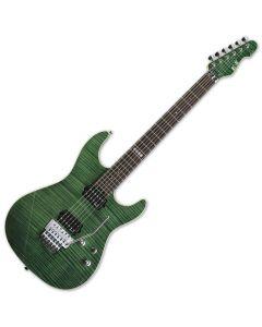ESP E-II ST-2 FM RW EGR Emerald Green Finish Electric Guitar EIIST2FMRWEGR