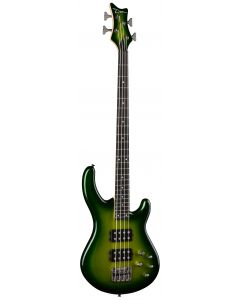 Dean Edge 3 Electric Green Metallic Burst Bass Guitar E3 EGMB E3 EGMB