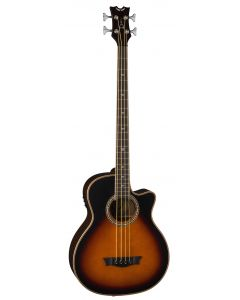 Dean Exotica Supreme Cutaway Acoustic/Electric Bass TSB EABCS TSB EABCS TSB