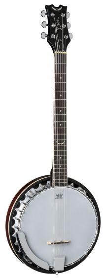 Dean Backwoods 6 Banjo Six String BW6