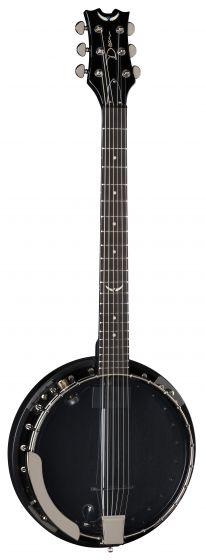 Dean Backwoods 6 Banjo w/Pickup Black Chrome BW6E BC