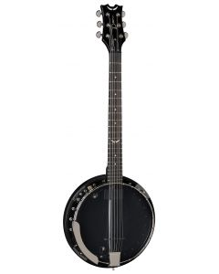 Dean Backwoods 6 Banjo w/Pickup Black Chrome BW6E BC BW6E BC