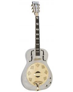 Dean Resonator Thin Body Electric Guitar Chrome/Gold RESCG RESCG