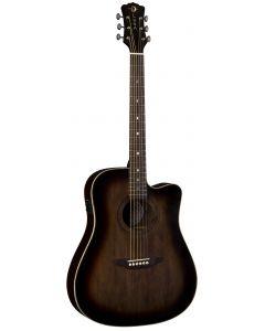 Luna Art Vintage Dreadnought Solid Top CAW A/E Guitar Dist ART V DCE ART V DCE