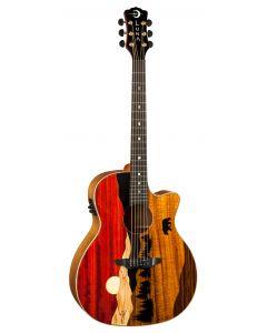 Luna Vista Bear Tropical Wood Acoustic Electric Guitar VISTA BEAR VISTA BEAR