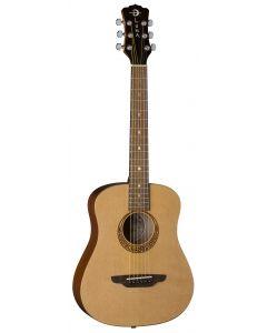 Luna Safari Muse Travel Acoustic Guitar Spruce w/Bag SAF MUS SPR SAF MUS SPR