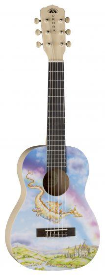 Luna Aurora 1/2 Nylon Guitar Dragon AR2 NYL DRAGON