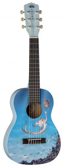 Luna Aurora 1/2 Nylon Guitar Mermaid AR2 NYL MERMAID