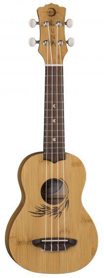 Luna Uke Bamboo Soprano w/Gigbag UKE BAMBOO S