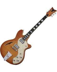 Schecter TSH-1 Classic Electric Guitar Vintage Natural Burst  SCHECTER178