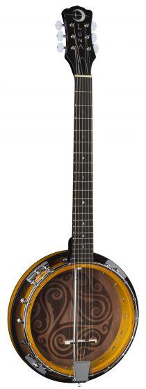 Luna Banjo Celtic 6-String BGB CEL 6