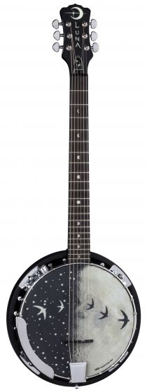 Luna Moonbird Banjo 6-String w/Pickup BGB MOON 6E