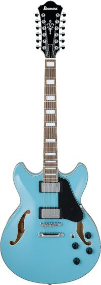 Ibanez AS Artcore 12 String Mint Blue AS7312MTB Hollow Body Electric Guitar