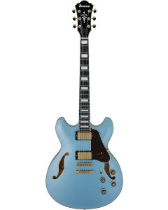 Ibanez AS Artcore Expressionist AS83 STE Steel Blue Hollow Body Electric Guitar AS83STE
