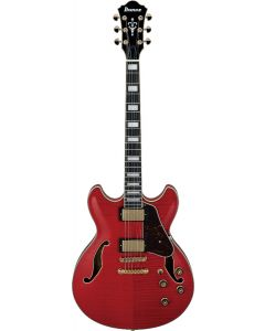 Ibanez AS Artcore Expressionist AS93FM TCD Transparent Cherry Red Hollow Body Electric Guitar AS93FMTCD