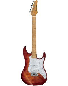 Ibanez AZ224F BTB AZ Premium Brown Topaz Burst Electric Guitar w/Case AZ224FBTB