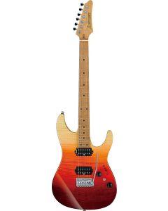 Ibanez AZ Premium Tequila Sunrise Gradation AZ242F TSG Electric Guitar w/Case AZ242FTSG