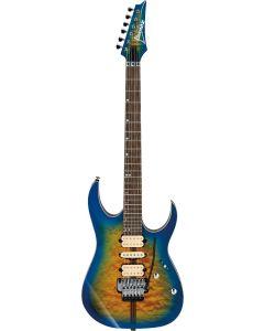 Ibanez RG Premium RG6PFGMLTD GBB Geyser Blue Burst Electric Guitar w/Case RG6PFGMLTDGBB
