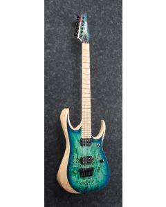 Ibanez RGDIX6MPB SBB RGD Iron Label Surreal Blue Burst Electric Guitar