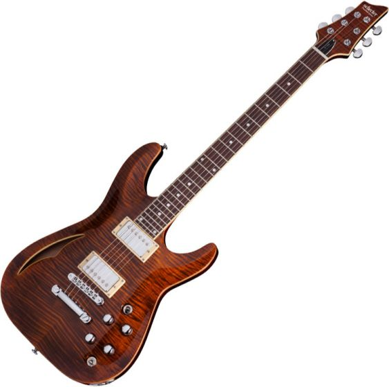 Schecter C-1 E/A Electric Guitar Cat's Eye