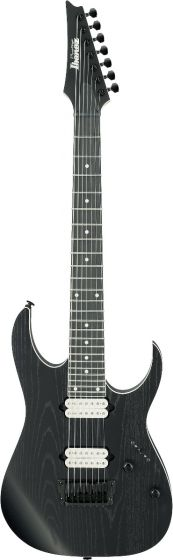 Ibanez RG Prestige RGR752AHBF WK 7 String Weathered Black Electric Guitar w/Case
