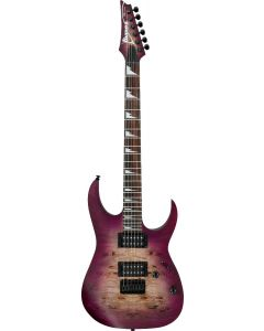 Ibanez RG Standard RGRT621DPB TPF Transparent Purple Burst Flat Electric Guitar RGRT621DPBTPF