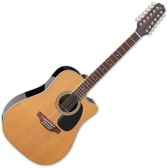 Takamine EF400SC TT Dreadnought Acoustic Guitar Natural Gloss B Stock