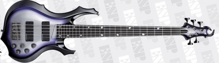 ESP E-II Doris Yeh DY5 SSB Signature Bass Guitar B Stock