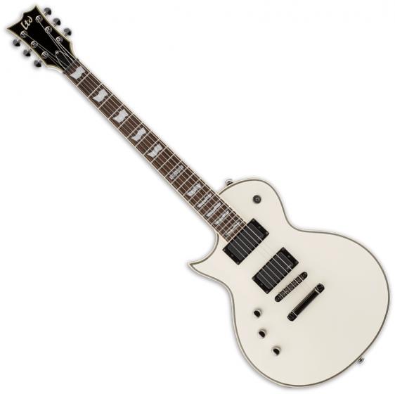 ESP LTD EC-401 Left-Handed Electric Guitar Olympic White B Stock