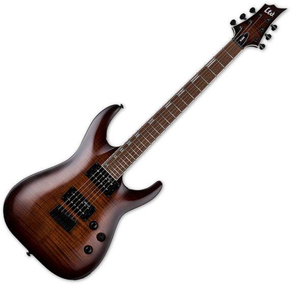 ESP LTD H-200FM Electric Guitar Dark Brown Sunburst B Stock