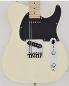 G&L ASAT Classic USA Fullerton Standard in Vintage White