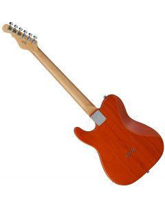 G&L ASAT Classic Bluesboy USA Fullerton Deluxe in Clear Orange Maple