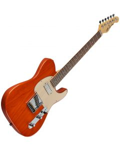 G&L ASAT Classic Bluesboy USA Fullerton Deluxe in Clear Orange Rosewood FD-ASTCB-ORG-CR