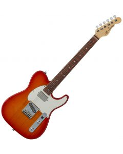 G&L ASAT Classic Bluesboy USA Fullerton Deluxe in Cherry Burst Rosewood FD-ASTCB-CHY-CR