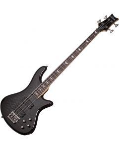 Schecter Stiletto Extreme-4 Electric Bass See-Thru Black  SCHECTER2503