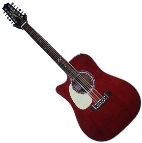 Takamine JJ325SRC 12 String Left Handed John Jorgenson Acoustic Guitar Gloss Polyurethane