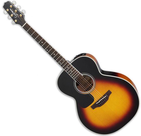 Takamine P6N Left Hand NEX Acoustic Guitar in Brown Sunburst