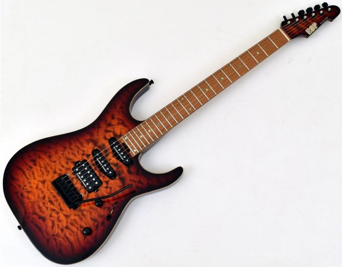 ESP USA M-III 2PT Electric Guitar in Tiger Eye Sunburst