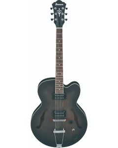Ibanez AF55 TKF AF Artcore 6 String Transparent Black Flat Hollow Body Electric Guitar AF55TKF